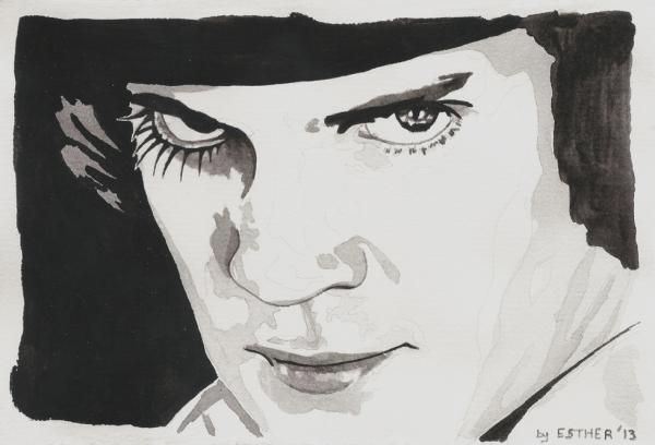 Malcolm McDowell par Estherproductos